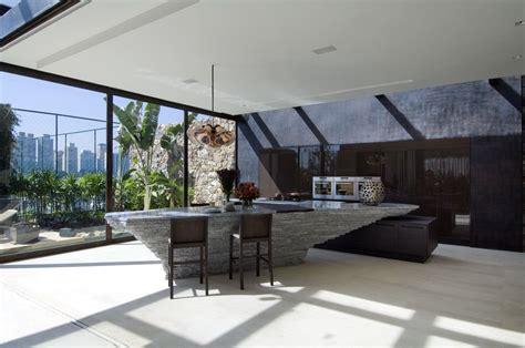 modern house kitchen designs modern bar and kitchen area interior design ideas