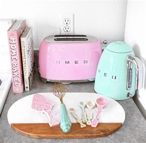 pastel kitchen ideas 1000 images about smeg on pinterest stove kettle and