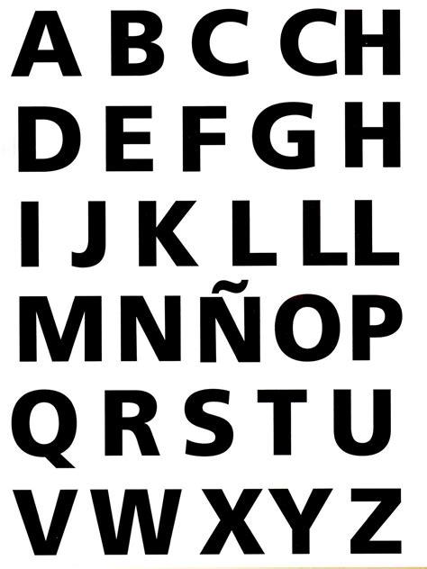 imagenes en blanco y negro de letras moldes del abecedario letra por letra imagui