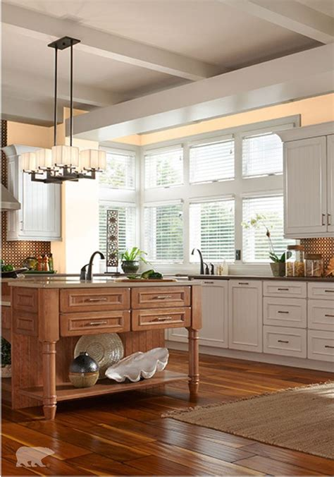 looking to update your traditional style kitchen with a modern twist try behr paint in pale