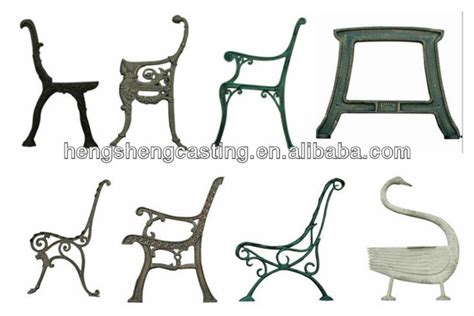 metal park bench legs cast iron garden bench leg outdoor metal bench leg buy