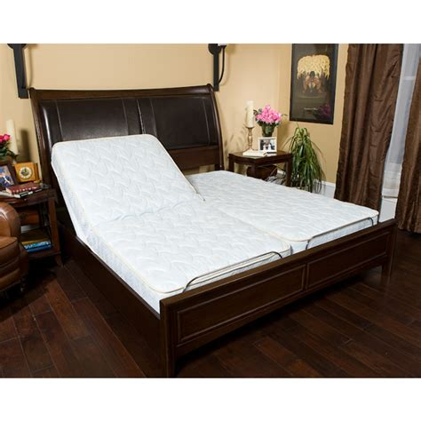 dual adjustable beds goldenrest classic dual king adjustable bed