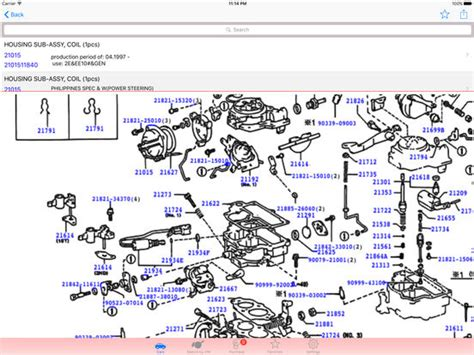 toyota oem parts diagram toyota parts diagram vin on the app store