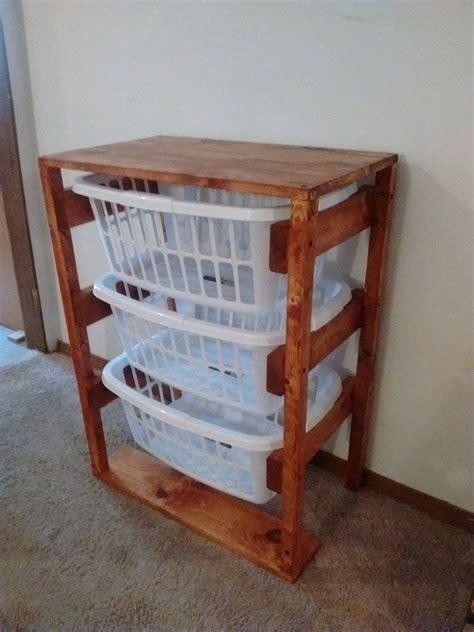 buy custom laundry basket holders   order  viles woodworking custommadecom