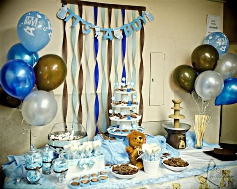 Baby Blue And Brown Baby Shower Decorations by 1000 Images About Blue And Brown Baby Shower On