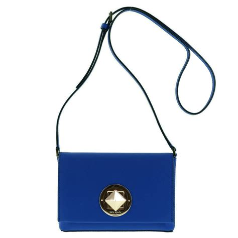 Kate Spade Safiona 2in1 spreesuki kate spade newbury sally saffiano crossbody bag hyacinth blue wkru3430