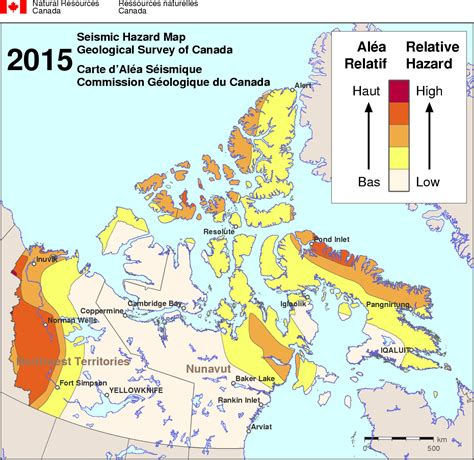 earthquake zones in canada earthquake map canada my blog