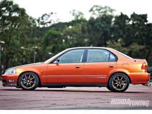 Honda Sir 2000 Honda Civic Sir Sedan Honda Tuning Magazine