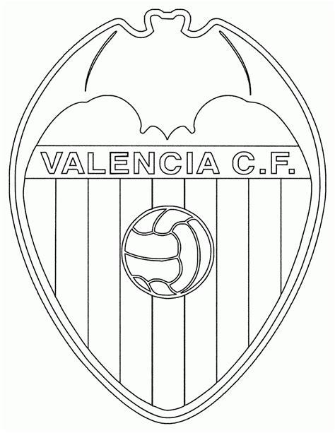 Mewarnai Gambar Logo Klub Valencia - Contoh Anak PAUD