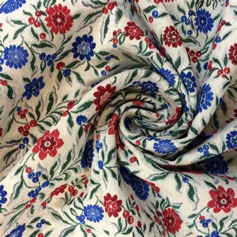 haute couture luxury jacquard viscose fabric buy