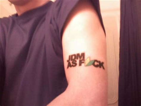 jdm sun tattoo jdm as f ck tattoo