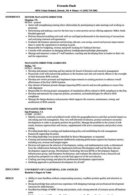 colorful managing director resume collection resume