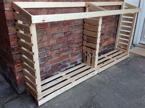 build firewood rack pallets firewood storage ideas the owner builder network