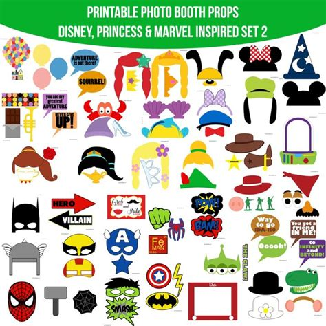 printable photo booth props disney 8 best disney princess party images on pinterest