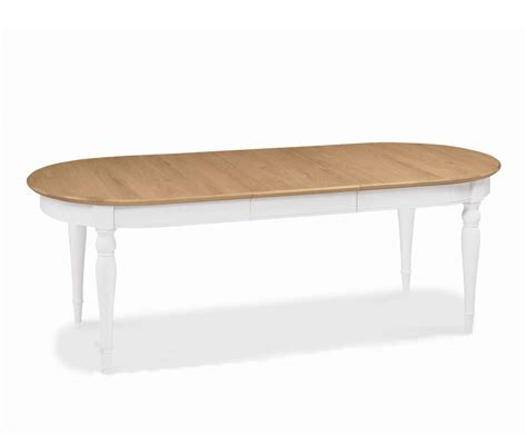 hstead two tone extending dining table uk delivery
