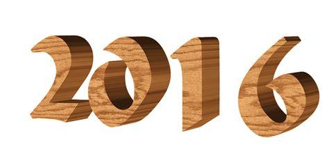 new year 2016 wood ilustraci 243 n gratis n 250 mero 2016 png 3d imagen gratis