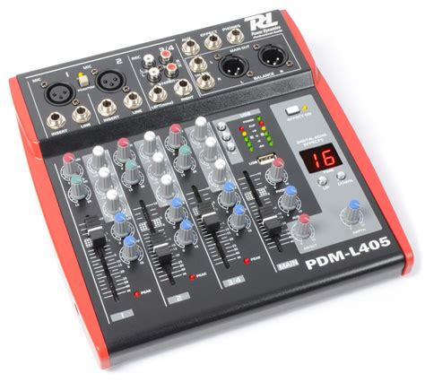 Mixer Cina 4 Channel dale gmbh 171166 pdm l405 mixer 4 channel mp3 echo