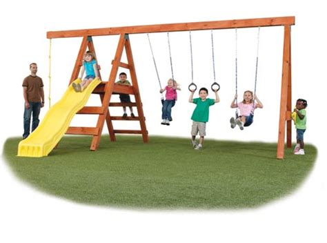 swing for dollars top 5 wooden swing sets under 500 dollars