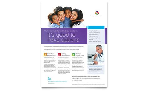 Insurance Flyers Templates Design Exles Health Care Flyer Template Free