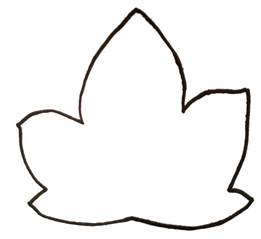 Outline Of A Pumpkin Leaf by A Happy Hanvey Home Tissue Paper Pumpkins