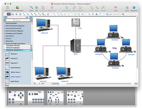 conceptdraw sles computer and networks network convert a computer network diagram to adobe pdf