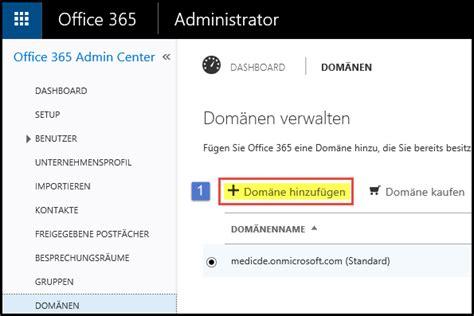 Office 365 Mail Domain Name Office365 Domain Einrichten 002 Medic Daniel De