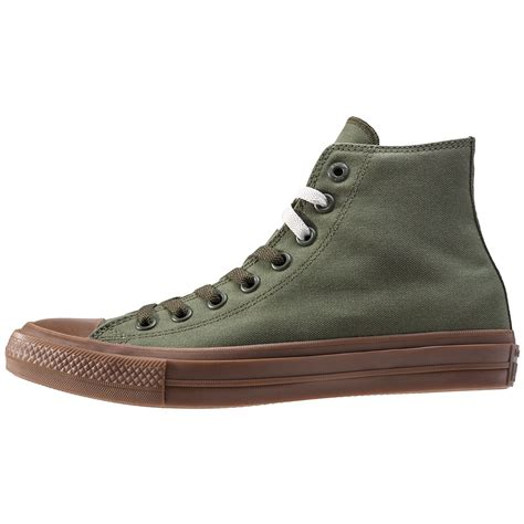 Converse Chuck Ii Hi Abu converse chuck all ii hi mens trainers in green