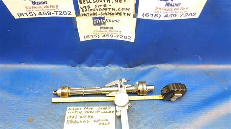 Suzuki Propellers For Sale For Sale Suzuki Prop Shaft 1987 Dt 20 Hp And Clutch 99