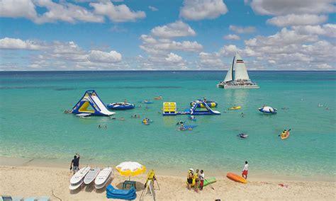 cozumel catamaran snorkel and beach onboard experience royal caribbean international