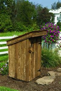 amish yard outhouse well cover water well cover