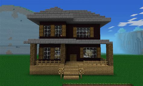 cool compact woodland house design minecraft pocket edition designs images amp pictures becuo