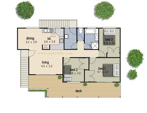 Simple Houseplans Simple 3 Bedroom House Plan Superhdfx