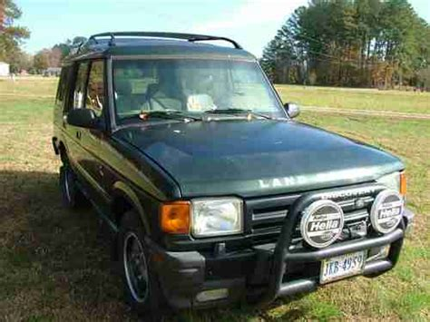 how petrol cars work 1997 land rover discovery parking system find used 1997 land rover discovery se 300 tdi diesel conversion in hallieford virginia united