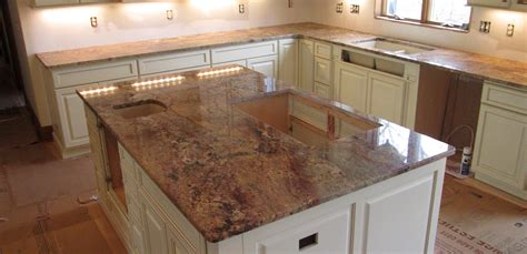 Granite Countertop Island by Granite Kitchen Countertop Island W 3 8 Top Radius
