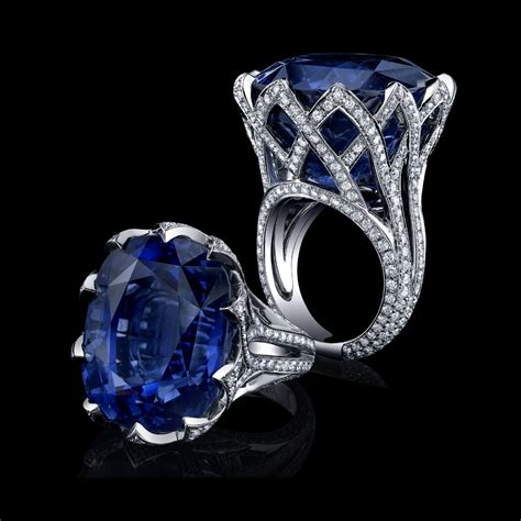 Blue Sapphire 3 27 Ct jewelry news network january 2013