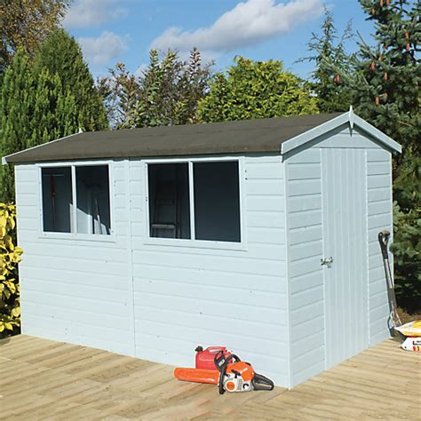 Easy Assemble Sheds by Wickes Easy To Assemble Shiplap Shed Apex Tongue Groove