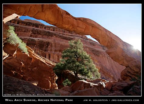 Landscape Arch Before 1991 Wall Arch Arches National Park Jmg Galleries