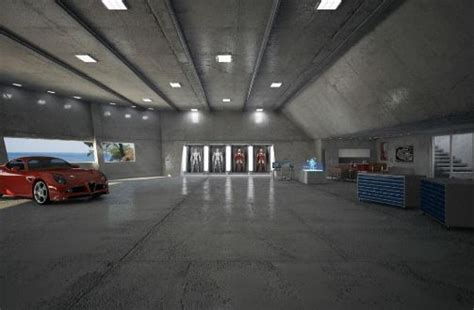 tony stark home i would love to turn my garage workshop into something