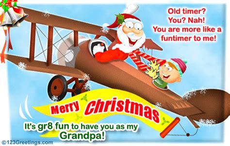 merry christmas grandpa  family ecards greeting cards