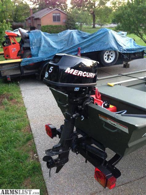 alumacraft jon boat 12ft armslist for sale 12ft alumacraft with 5hp mercury