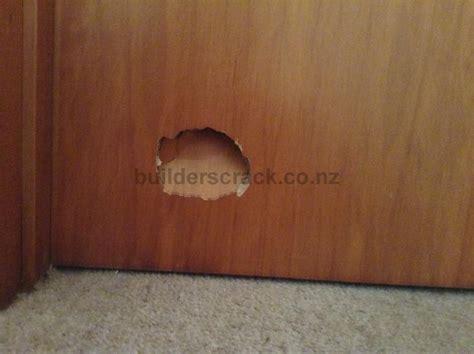 How To Fix A In A Wooden Door by Wooden Door Repair 41299 Builderscrack