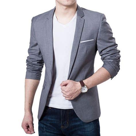 Jas Blazer Jaket Casual Style Blue toko jas formal di jual murah blazer pria model