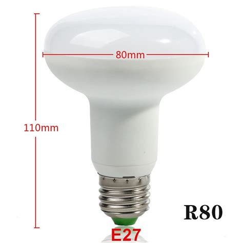 Lu Led Warm White free shipping e27 12w r80 led bulb light dimmable umbrella