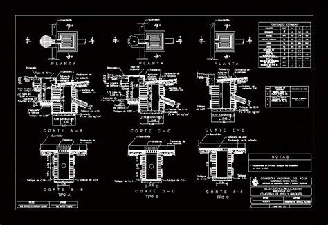 floor drains  bench dwg detail  autocad designs cad