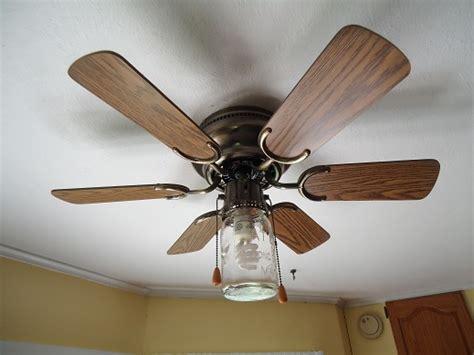 jar ceiling fan a jar in my ceiling fan heavenly homemakers