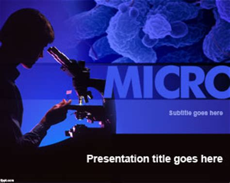 microbiology powerpoint templates microbiology powerpoint template ppt template