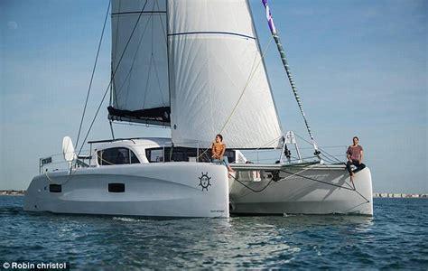 la vagabonde new boat glamorous couple who earn a living sailing the world