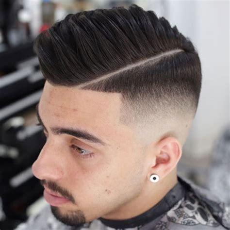 comb over hard part skin fade haircut bald fade haircut