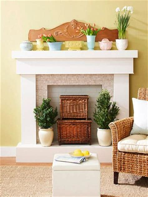 how to decorate empty space next to fireplace 4 ideas for fireplace decorating midwest living