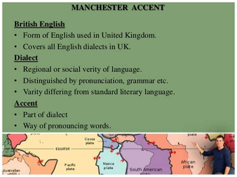 accentual pattern of english words british accent